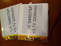 Аккумулятор батарея для планшета 3200mAh  75х60х2мм