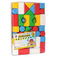 Набор кубиков Веселка-3 ТМ Технок 2612  , 42 элемента