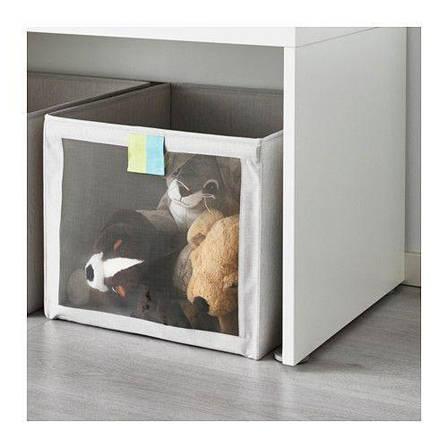СЛЭКТИНГ Коробка, серый, 60327934 ИКЕА IKEA SLAKTING , фото 2