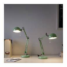 ФОРСА Лампа робочая, зеленый, 40321419, IKEA, ИКЕА, FORSA, фото 3