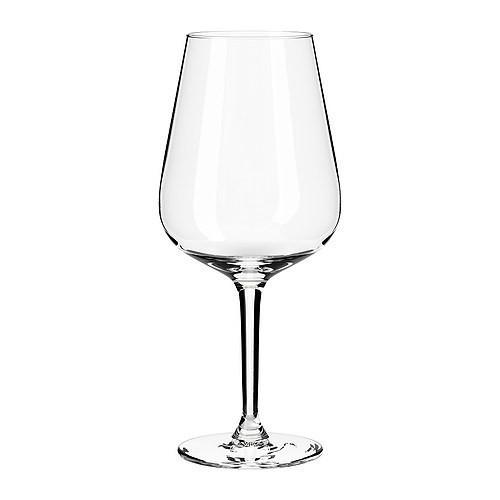 ХЕДЕРЛИГ Набор бокалов для  вина, 6 штук, 20154869, ИКЕА, IKEA, HEDERLIG