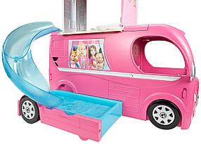 Кемпер Трейлер Барби Фургон автобус для путешествий куклы Барби Barbie Pop-Up Camper