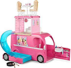 Кемпер Трейлер Барби Фургон автобус для путешествий куклы Барби Barbie Pop-Up Camper, фото 2