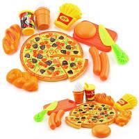 Пластиковая пицца для кухни Pieces 15PCS Pretend Play Play для детей Цветной