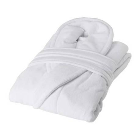 НЬЮТА, Женский халат, белый, 90100689, L/XL, ИКЕА, IKEA, NJUTA, фото 2