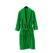 НЬЮТА, Халат банный, зеленый, L/XL, 70317915, ИКЕА, IKEA, NJUTA