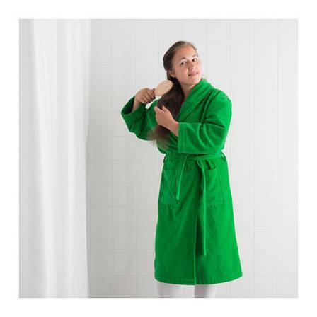 НЬЮТА, Халат банный, зеленый, L/XL, 70317915, ИКЕА, IKEA, NJUTA, фото 2