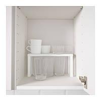 ВАРЬЕРА Вставка в полку малая, белый, 80136622, ИКЕА, IKEA, VARIERA