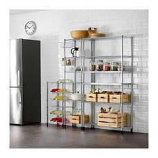 ОМАР Стеллаж для металлический для бутылок с вином, 30069762, ИКЕА, IKEA, OMAR, фото 3