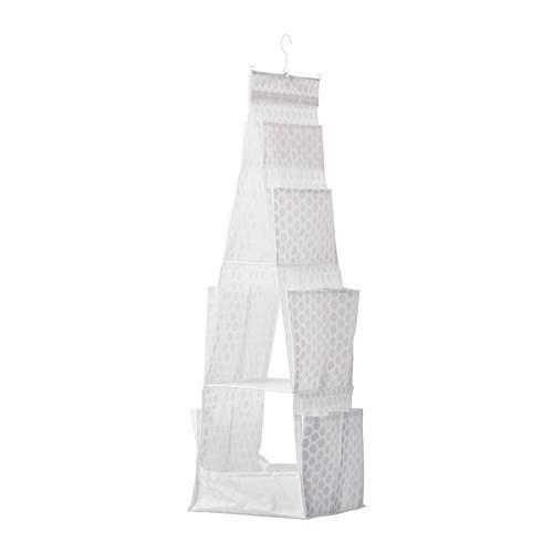 ПЛУРИГ Подвесная секция д/хранен/3 ячейки, белый, 70242835, IKEA, ИКЕА, PLURING