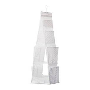 ПЛУРИГ Подвесная секция д/хранен/3 ячейки, белый, 70242835, IKEA, ИКЕА, PLURING, фото 2