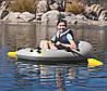Одноместная надувная лодка Bestway 61106 Човен, фото 4