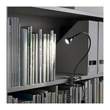 ЯНШО Лампа на прищепке, светодиодная, серебристый, 30309347, IKEA, ИКЕА, ONSJO, фото 3