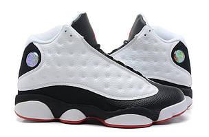 Баскетбольные Кроссовки Nike Air Jordan 13 Panda White Black Red
