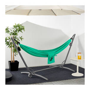 РИСЁ Гамак, зеленый, 60338032, IKEA, ИКЕА, RISO, фото 2