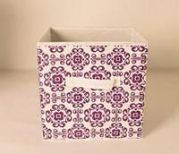 Ящик складной для игрушек, короб для книг, одежды и пр.Орнамент