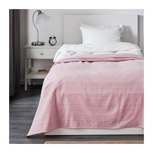 ФАБРИНА Покрывало, светло-розовый,  90196314, ИКЕА, IKEA, FABRINA