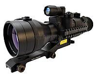 Прицел ночного видения Pulsar Phantom 4x60 BW 2+, ч/б ЭОП, кр.Weawer long