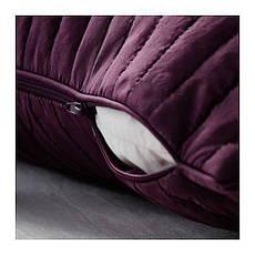 КАРИТ Покрывало и чехол на подушку, сиреневый, 90290260, ИКЕА, IKEA, KARIT, фото 2