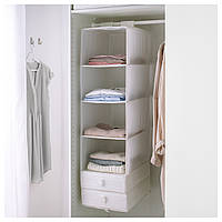 СКУББ, Модуль для хранения с 6 отделениями, белый, 00245880, ИКЕА, IKEA, SKUBB