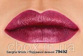 """Губна помада """"Вибух кольору"""" (пробник), Avon Mark, колір Sangria Shock - Подіумний винний, Ейвон Марк, 79492"""