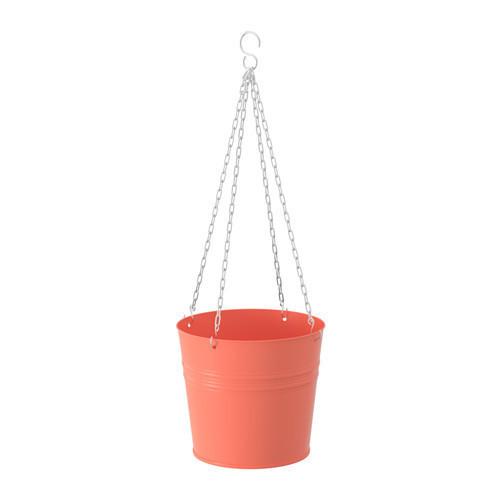СОККЕР Кашпо подвесное оранжевый, 30338854, ИКЕА, IKEA, SOCKER