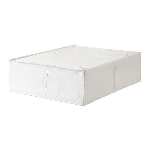 СКУББ  Сумка для хранения, белый, 90294989, ИКЕА, IKEA, SKUBB