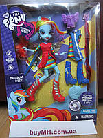 Кукла My Little Pony Equestria Girls Rainbow Dash Девочки Эквестрии Радуга Деш шарнирная, фото 1