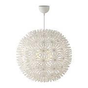 МАСКРУС Подвесной светильник, белый, 55х140, 30190447, IKEA, ИКЕА, MASKROS