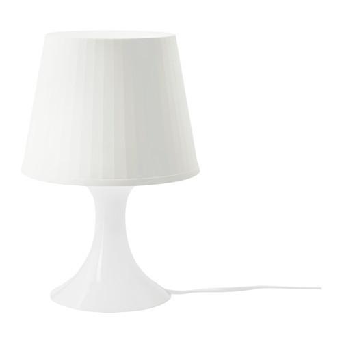 ЛАМПАН Лампа настольная, белый, 20046988, ИКЕА, IKEA, LAMPAN