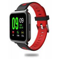 SN 10 умные часы мониторинг сердечного ритма Красный