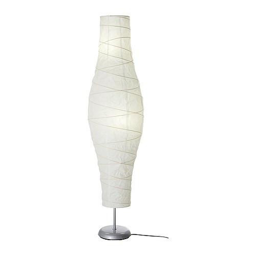 ДУДЕРО Светильник напольный, серебристый/белый, 20213595, IKEA, ИКЕА, DUDERO