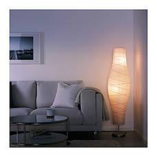 ДУДЕРО Светильник напольный, серебристый/белый, 20213595, IKEA, ИКЕА, DUDERO, фото 3