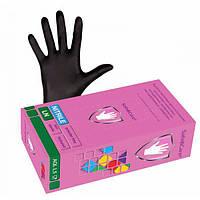 Safe&Care Перчатки нитрил черный 100шт L