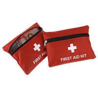 2шт Портативная медицинская аптечка для экстренных случаев 13 в 1 Красный