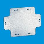 Монтажные пластины из оцинкованной стали