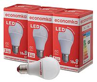 Светодиодная лампа Economka  A60 10w СУПЕРПАК E 27 4200К