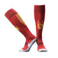 Футбольные удлиненные носки для взрослых Красный