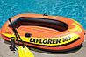 ДВУХКАМЕРНАЯ НАДУВНАЯ ЛОДКА ИЗ ПВХ INTEX 58332 EXPLORER 300 SET Човен, фото 5