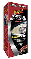Набор для восстановления фар - Meguiar's One-Step Headlight Restoration Plus Kit (G1900K)