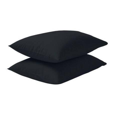 ДВАЛА Наволочка, черный, 40357187, IKEA, ИКЕА, DVALA, фото 2