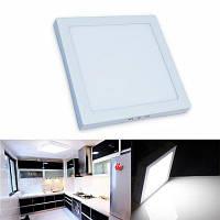 Cветодиодные панели 24W светодиодное потолочное освещение AC 85-265В квадратный светодиодный светильник Холодный белый свет