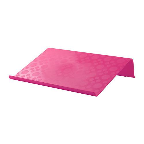 БРЭДА Подставка для ноутбука, розовый, 90261229, IKEA, ИКЕА, BRADA