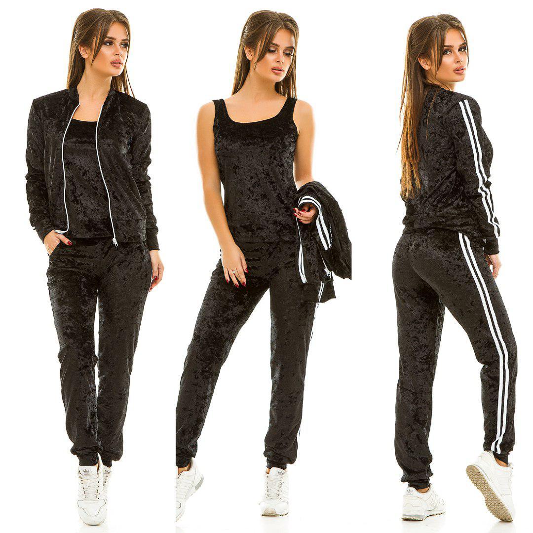 76f4539d887c Спортивный костюм бархат-тройка 259 ЖА: продажа, цена в Одессе ...