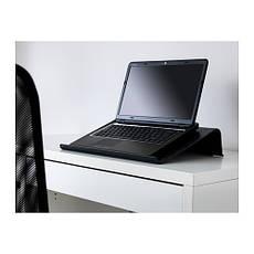 БРЭДА Подставка для ноутбука, черный, 60150176, IKEA, ИКЕА, BRADA, фото 3
