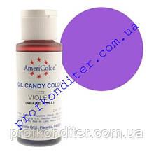 Краситель Americolor для шоколада Фиолетовый