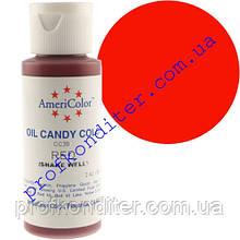 Краситель Americolor для шоколада Красный