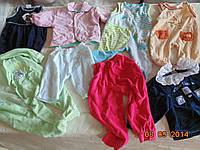 Детская одежда секонд хенд 0-2 года(велюр)