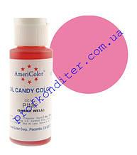 Барвник Americolor для шоколаду Рожевий
