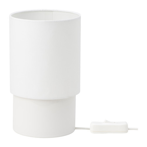 TOMTA Лампа настольная, белый, 19 см, 80255177, ИКЕА, IKEA, TOMTA